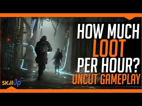 The Division   4 x Solo Underground in 60 mins- 48 items looted (17 Gear Set Items)