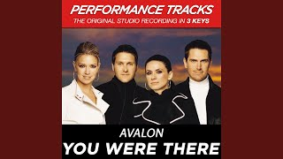 You Were There (Performance Track In Key Of Eb/Gb With Background Vocals)
