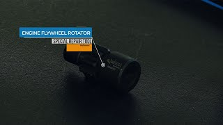 JALTEST TOOLS | How to use the engine flywheel rotator (50105001)