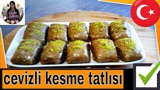 Ramazan 'a özel Nefis Kesme Cevizli Tatlı Tarifi Nasıl yapılır ? Sibelin mutfağı ile yemek tarifleri