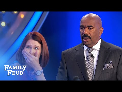 Stripper Steve... It's a Package Deal | Family Feud
