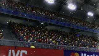 UEFA Euro 2008 Xbox 360 Gameplay - Celebration