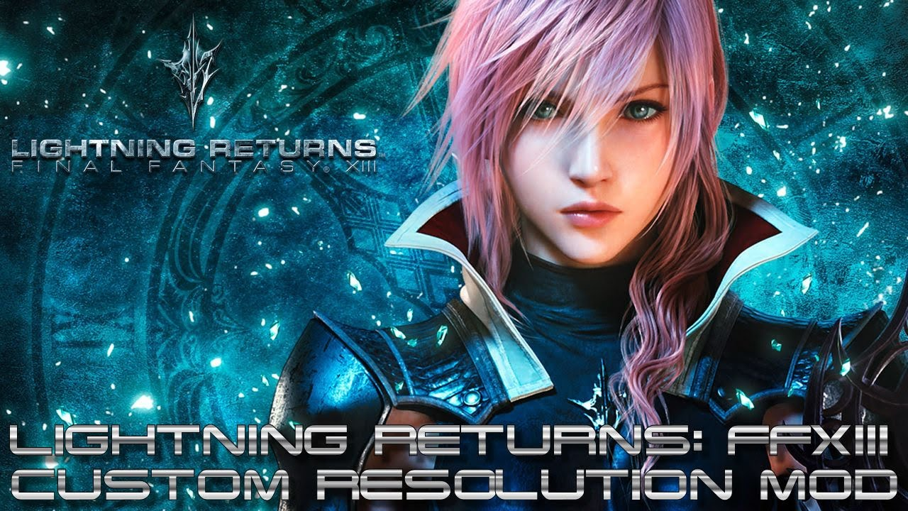 lightning returns: final fantasy xiii pc - tutorial custom