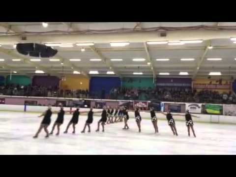 Revolution Synchronised Skating Team - Nationals 2015