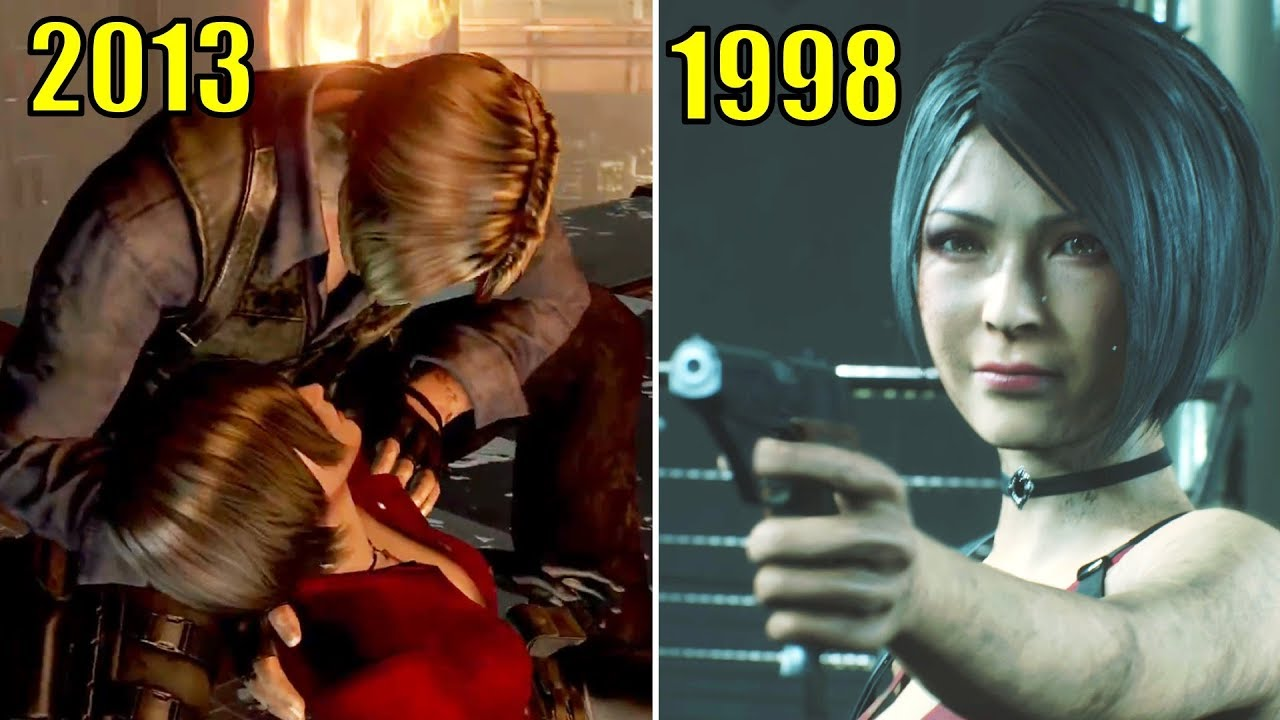 Ada Meets Leon Years After Racoon City Incident Resident Evil 2