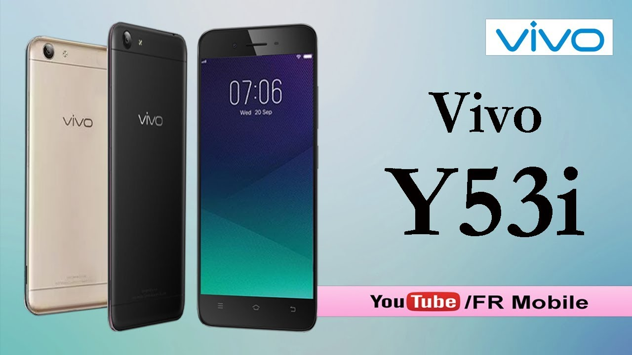 half off c0efe 8fa72 Vivo Y53i specifications and First Look, Specs & Features