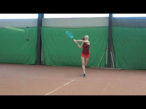 College Tennis Recruiting Video OverBoarder - Elysia Pool