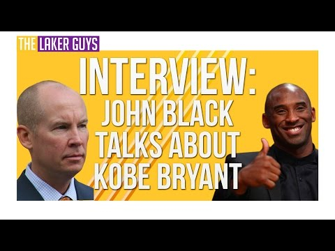 Exclusive Interview!! Lakers John Black (VP of Public Relations) Talks Kobes Last Game!