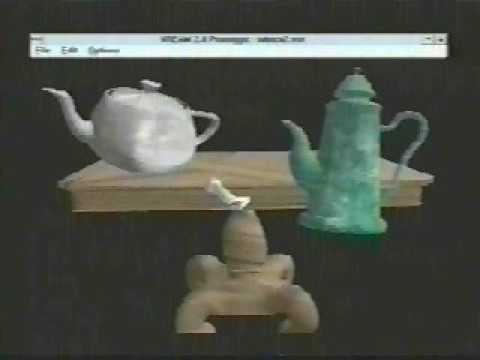 VR Vream Applications Preview - 1996