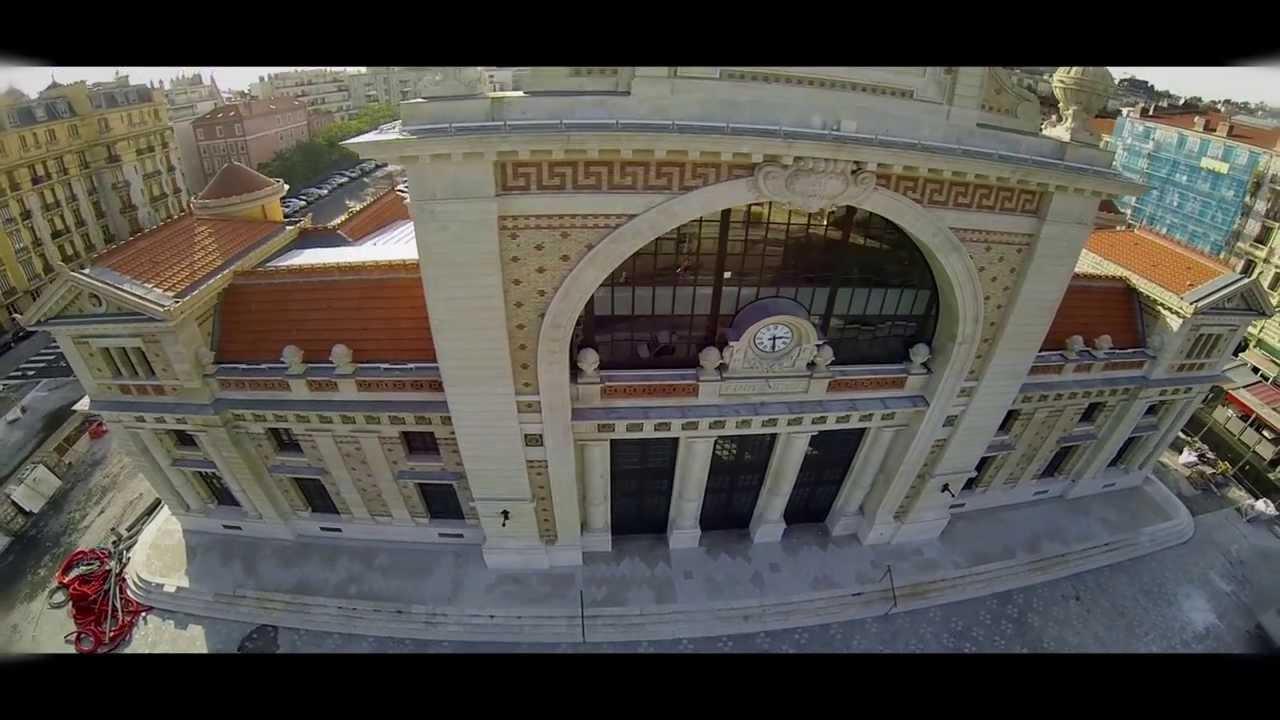 gare du sud nice inauguration d u00e9cembre 2013  vue d u0026 39 un