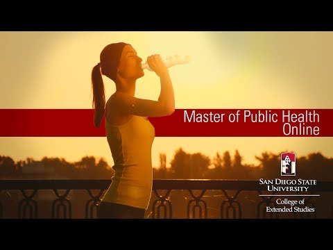 Master of Public Health Online | San Diego State University College of Extended Studies