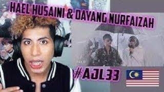 Hael Husaini _ Dayang Nurfaizah - Haram __AJL33 REACTION
