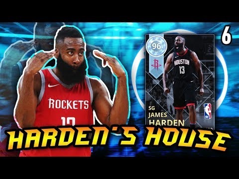 HARDEN'S HOUSE #6 - DIAMOND HARDEN 30 POINT DOUBLE DOUBLE!! | NBA 2K18 MyTEAM