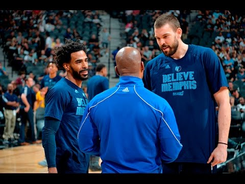 Best of Marc Gasol and Mike Conley Round One Against The Spurs