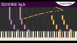 【ピアノ】SEKAI NO OWARI「Hey Ho」セカオワ新曲 ピアノソロアレンジ