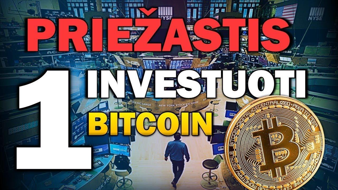 investuoti vien bitkoin