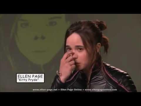 Ellen Page Kitty Pryde Special X Men 3 Youtube