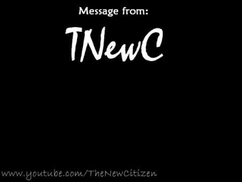 Message from TheNewCitizen