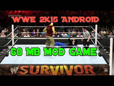 60mb How To Download Wwe 2k15 Mod In Android For Free Youtube