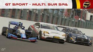 Gran Turismo Sport - A l'assaut de SPA-FRANCORCHAMPS ! feat. Hydro & Depielo