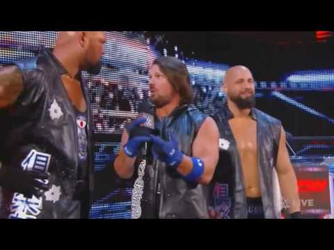AJ Styles & The Club Are Going To Beat Up John Cena #BeatUpJohnCena