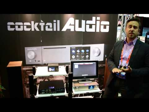 CEDIA 2014 - Cocktail Audio X30 & X12 All-in-one music server