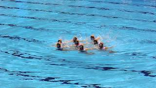Team GB Olympic Synchronised swimming 19/04/2012