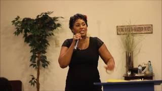 Minister Marilyn Ollie Deliverance and favor snippet Filmed by Jermaine Davis