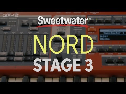 Nord Stage 3 88 Stage Keyboard Demo by Sweetwater