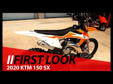 First Look 2020 KTM 150 SX at ChapMoto com - YouTube