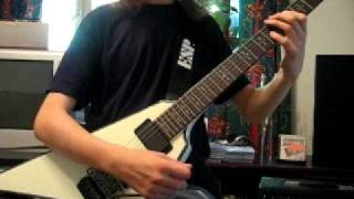 Annihilator - Death In Your Eyes (guitar cover)