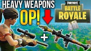 NEW BATTLE ROYALE? Fortnite PVP Sniper/RPG Gameplay