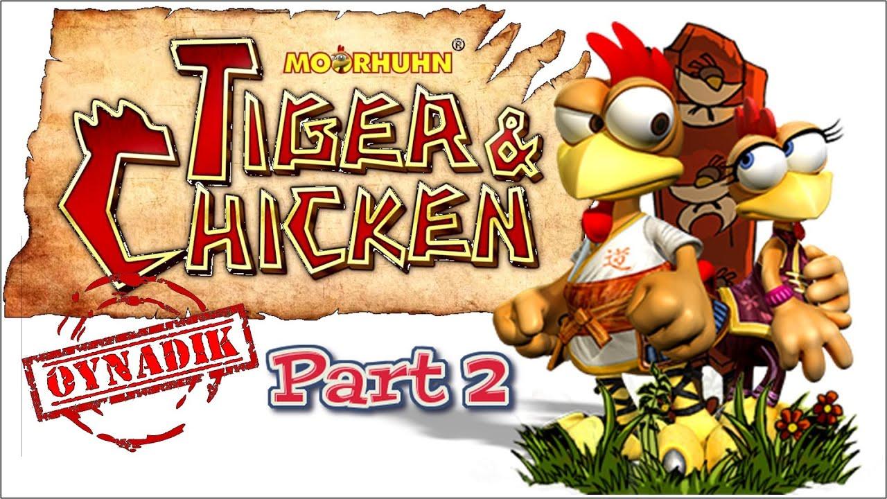 Moorhuhn Tiger And Chicken