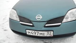 Nissan Primera Тест-драйв.