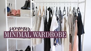 Summer 2017 Minimal Style Wardrobe Lookbook | Mademoiselle