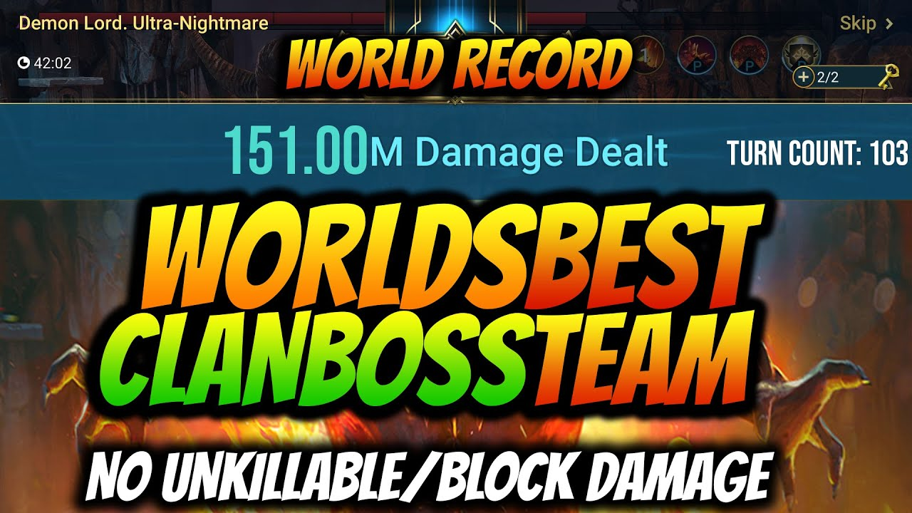 Download NEW TEAM & RECORD FOR ULTRA NIGHTMARE CB | GUIDE | I BROKE THE CLAN BOSS RAID SHADOW LEGENDS