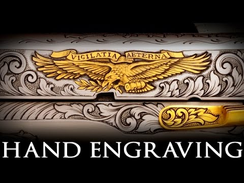 Hand Engraving Basics - What To Cut First