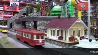 Williams Trolley Peter Witt Streetcar O Gauge