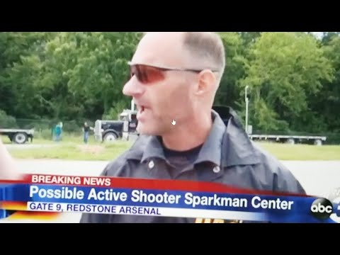 Active Shooter Redstone Arsenal