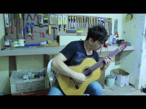 Guitarra Espanhola Fabio Lima - Luthier Rob Purkott