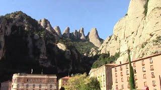 Экскурсия в монастырь Монсеррат.(На второй день нашего пребывания в Барселоне мы отправились на гору Монсеррат, что бы посетить, расположенн..., 2014-10-14T13:27:26.000Z)