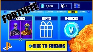 Fortnite Battle Royale HOW TO GIFT