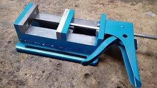 Making a drill vise DIY
