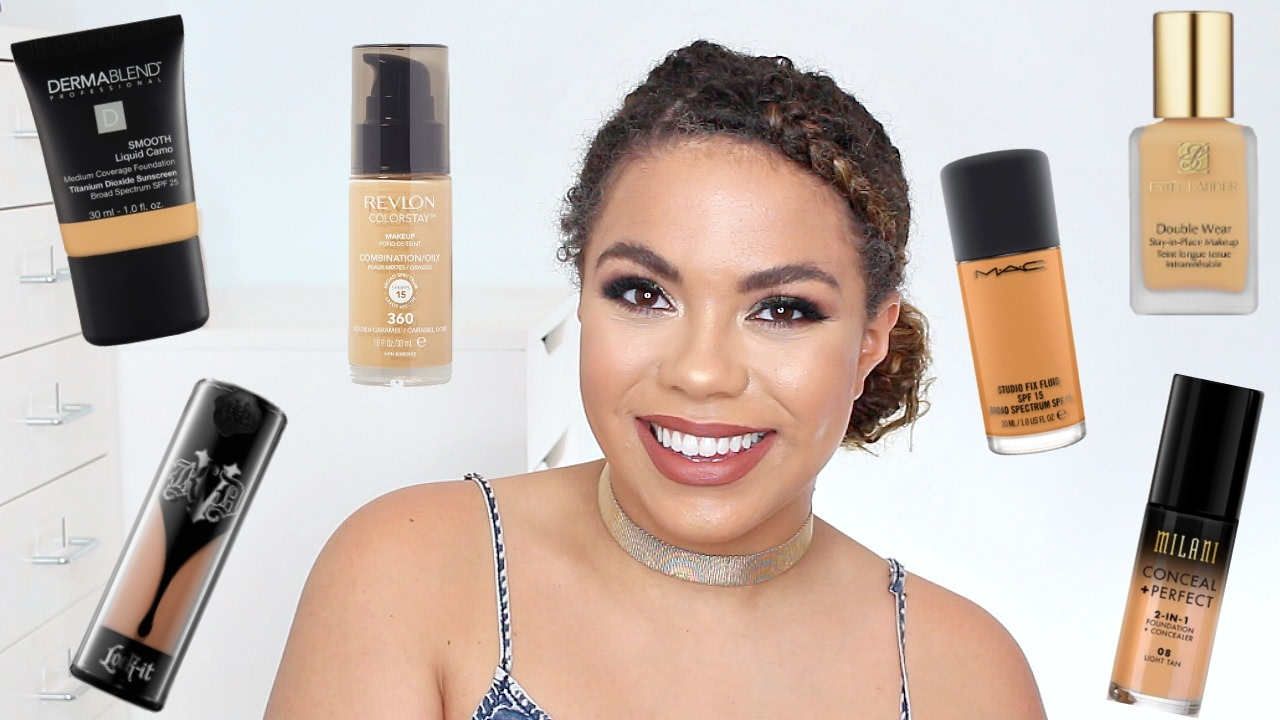 Best Full Coverage Foundations For Oily Skin  Samantha -7393