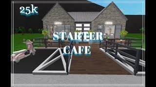 ROBLOX   Bloxburg   Starter Cafe   25k