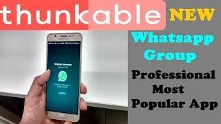 كيفية إنشاء W مجموعة التطبيق في Thunkable التطبيق الأكثر شعبية
