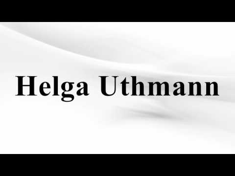 Helga Uthmann