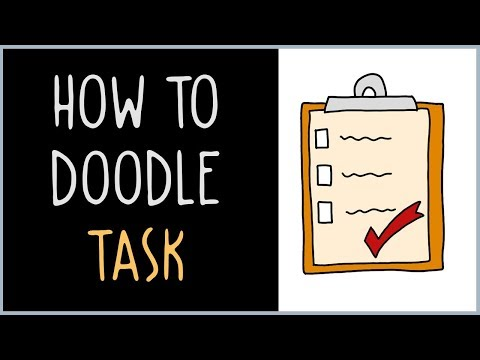 How to Draw a Task (drawing tips)