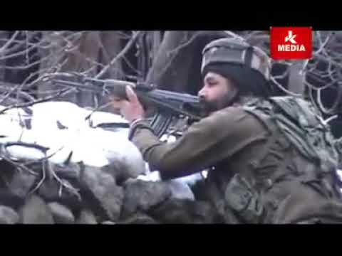Indian army operation in village near Pahalgam Kashmir