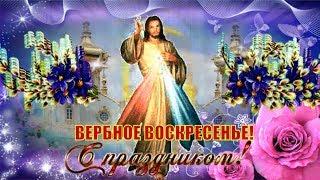 Красивое и оригинальное поздравление с ВЕРБНЫМ ВОСКРЕСЕНЬЕМ! Вход Господень в Иерусалим!